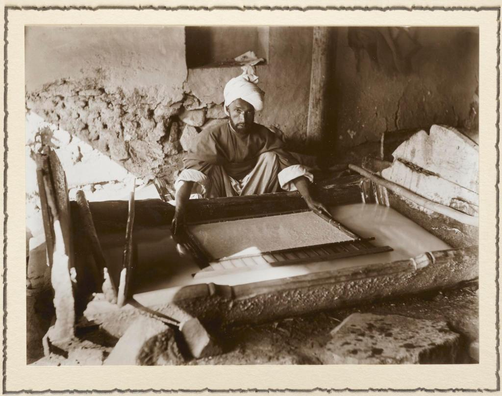 William Raitt, paper maker, Kashmir, 1917.